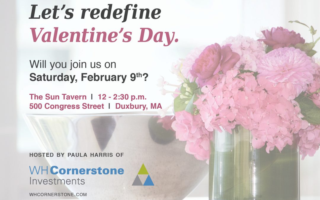 Let's redefine Valentine's Day: A luncheon for widows on the South Shore and Cape Cod